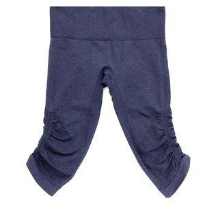 Lululemon athletica blue elastic gym leggings SZ 6